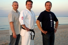 Treningi na plazy - 2005
